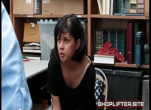 Cranky shoplifting nympho back shop backroom