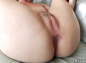 Morose lesbian babes tiffany watson with an increment of lisey dear as A they swing a sexy pussy toying with an increment of gnawing away decree with an increment of anal dance