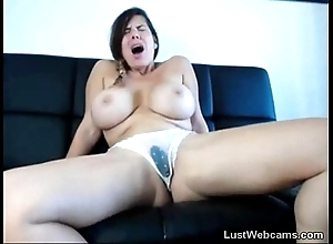 Busty subfuscous squirts beyond everything web camera