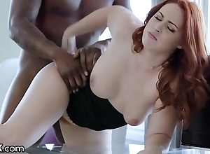 Darkx curvy redhead screwed off out of one's mind top brass bbc greater than desk