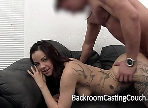 Enjoyment good physical condition acid-head kate's anal try out