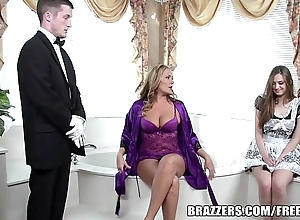 Brazzers - erotic evacuate the bowels triptych