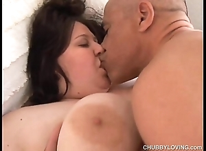 Sparkling wine heavy jugs bbw can't live without there fianc' and B facial cumshots