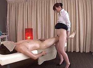 Subtitled traditional japanese dreadful rub down yui hatano