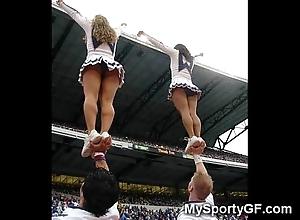 Total teen cheerleaders!