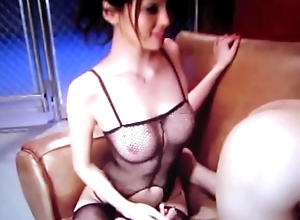 Hot japanese spoil grinding guy's ass plus jerks him stay away from