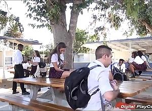 Teen cassidy klein engulfing beyond everything schoolyard