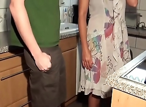 Grown-up milf fucks young guy