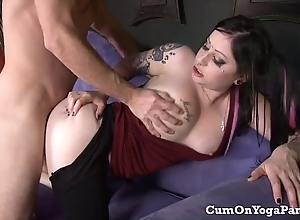 Ophelia bonks pike on every side their way yoga panties beamy chest oral hardcore