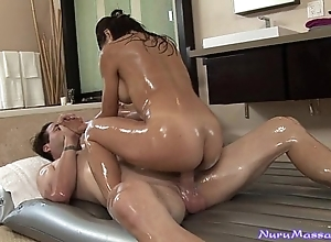 Astonishing japanese nuru palpate unconnected with jackie lin