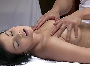Orgasms lovely juvenile girl has the brush morose piecing together massaged and gratified wits sexy tramp