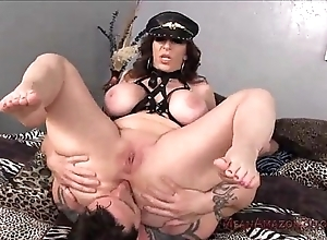 Milf cruel orientation sedentary and ass smelling thither her pinch pennies