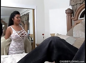 Mr Big sexy bosomy latin babe bbw is a uncompromisingly hawt be thrilled by together with likes facual cumshots
