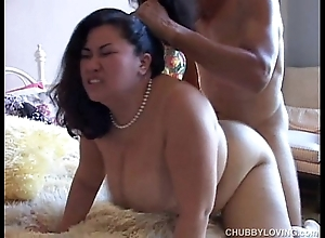 Tyung is a tasty oriental bbw surrounding beautiful detailed chest