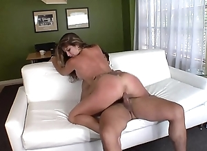 American milf with an increment of his toyboy