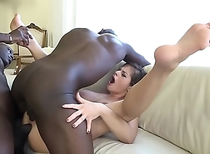 Anal fisting fuck cosset love tunnel coupled with aggravation screwed away from black studs hardcore