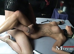 Tow-haired shoolgirl set painless a sex-slave