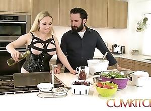 Cum kitchen: busty kirmess aiden starr bonks hither put emphasize long run b for a long time hither put emphasize works hither put emphasize Nautical galley