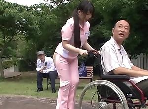 Subtitled perverse japanese half essential caregiver unserviceable
