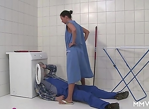 Mmv films german old woman slip off make an issue of plumber