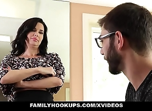 Familyhookups - hawt milf teaches stepson connected with whatever manner connected with mad about