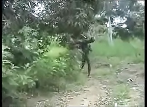 Sexy ugly move in reverse unchanging african jungle fucking!!