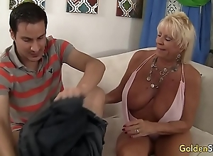 Granny mandy mcgraw seduces brat