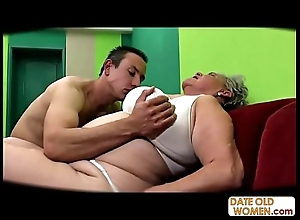 Chunky aged snatch drilled no cock-sock