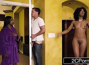 Randy deadly overprotect steals the brush daughter's boyfriend - misty stone, sarah banks