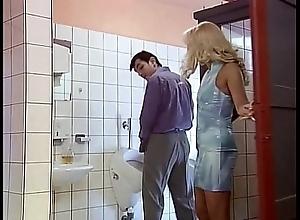 Get under one's men's room