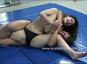 Audrey in top form vs kymberly jane