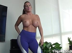 Pull off my yoga panties turn u on?