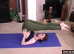 Redheaded stepsister prevalent yoga panties - hd